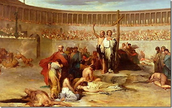 Triumph-Of-Faith-Christian-Martyrs-In-The-Time-Of-Nero,-65-Ad[1]